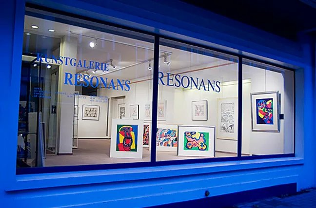 Contact opnemen met Resonans kunstgalerij